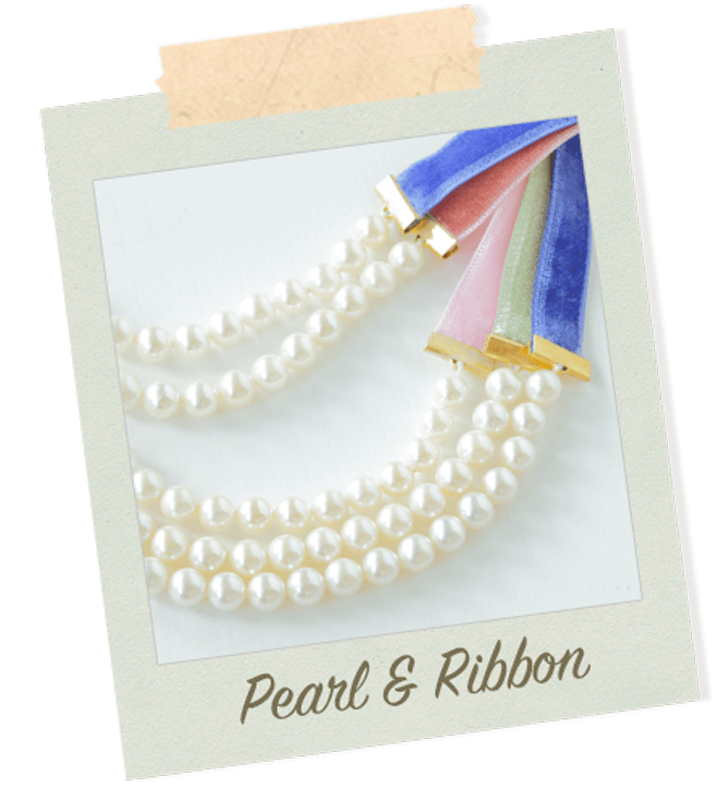 Pearl & Ribbon